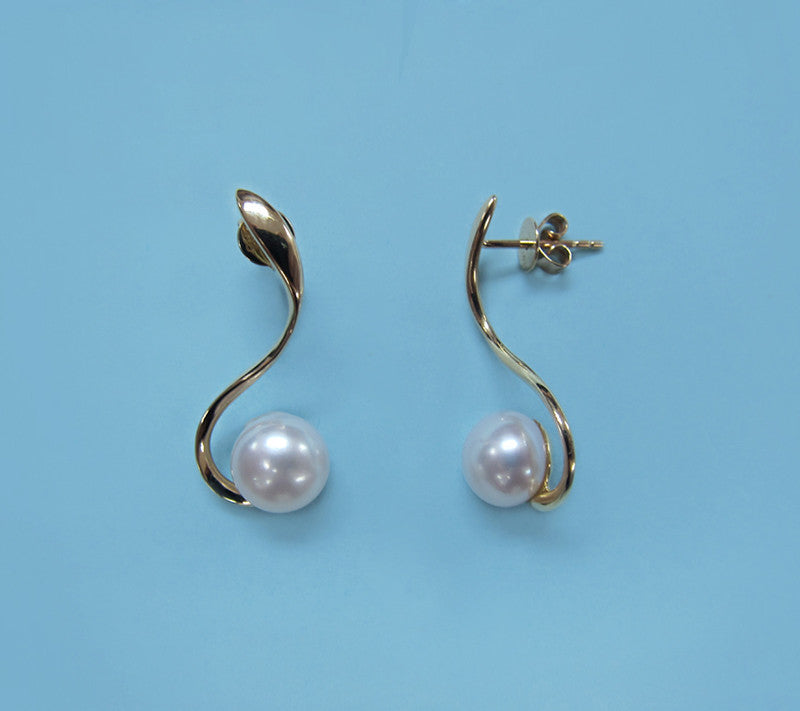 14K Yellow Gold Freshwater Pearl - Wing Wo Hing Jewelry Group - Pearl Jewelry Manufacturer