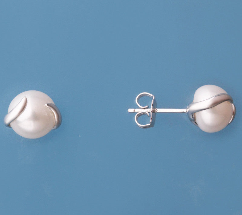 Sterling Silver Freshwater Pearl Earrings - Wing Wo Hing Jewelry Group - Pearl Jewelry Manufacturer