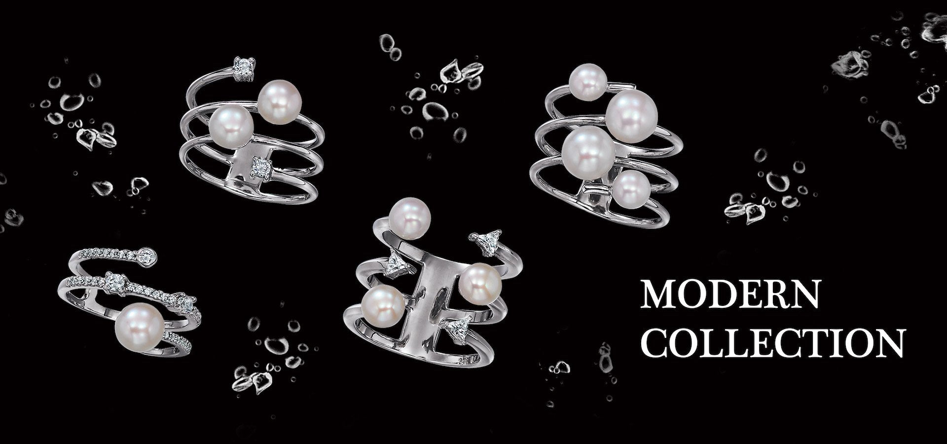 Modern Freshwater Pearl Silver Jewelry