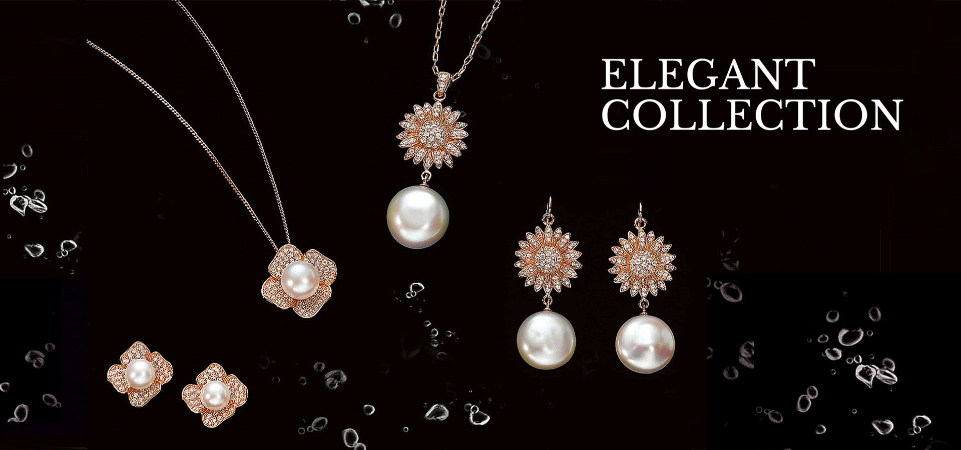 Pearl Silver Jewelry Elegant Collection