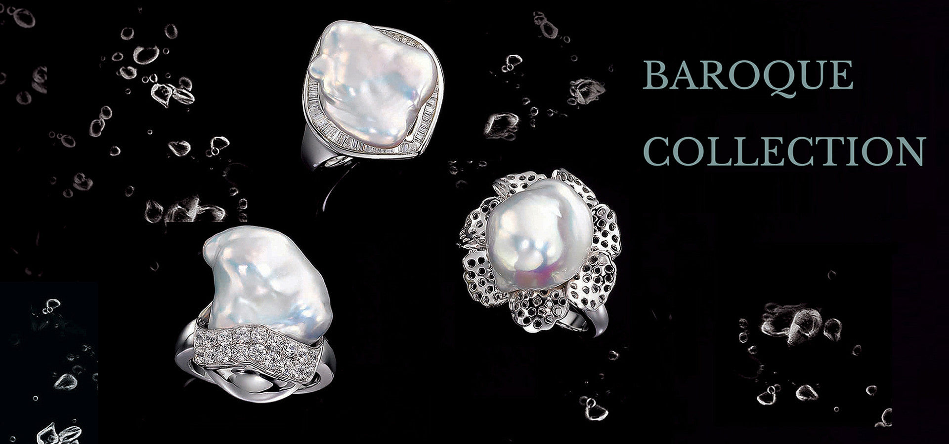 Freshwater Baroque Pearl Silver Jewelry