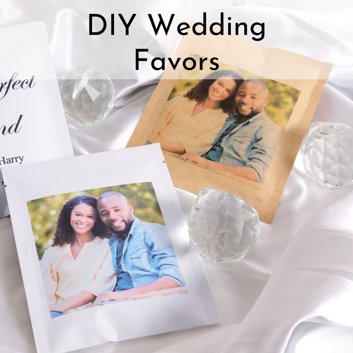 DIY Personalized Picture (50 ct.) - Wedding Favor