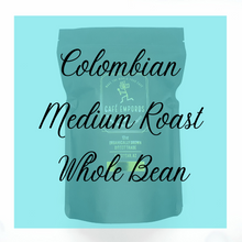 Load image into Gallery viewer, Colombian Whole Bean (Medium Roast) 12 oz - Cafe Emporos