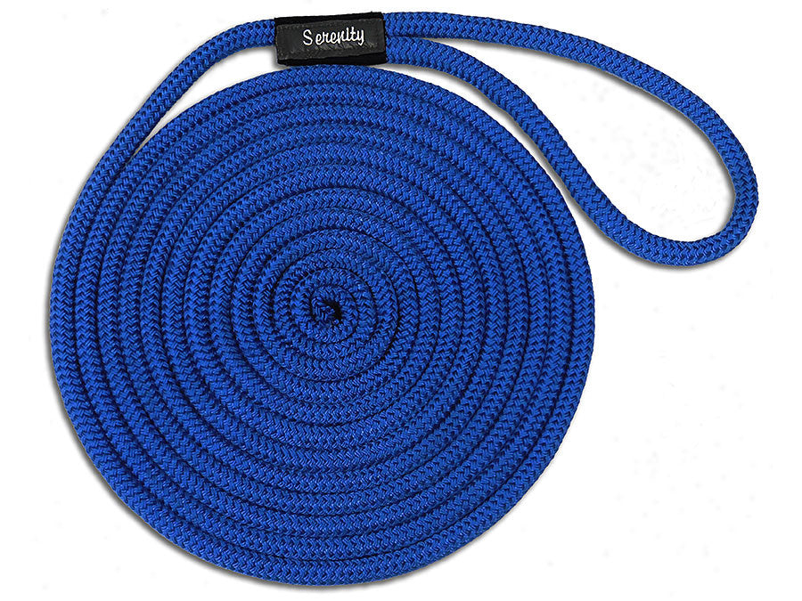 Personalized Double Braid Nylon Dock Lines Thumbnail