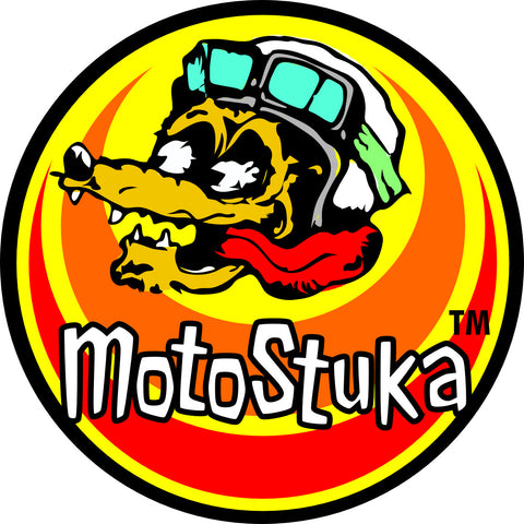 MotoStuka Rally Coyote Sticker