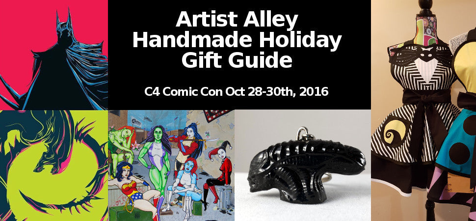Artist Alley Handmade Holiday Gift Guide