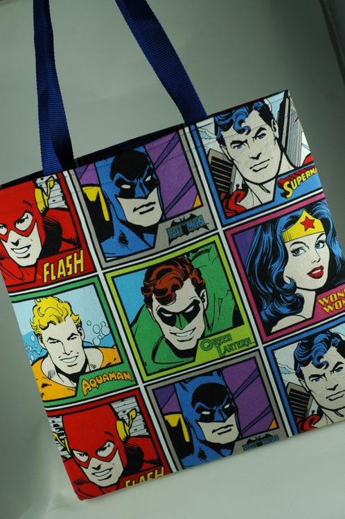 Custom Order Review: DC Comic Heroes Tote Bag and Throw Pillow
