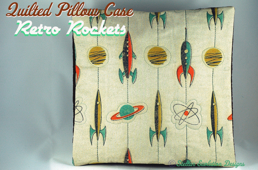 Fabric designs using rockets I love…