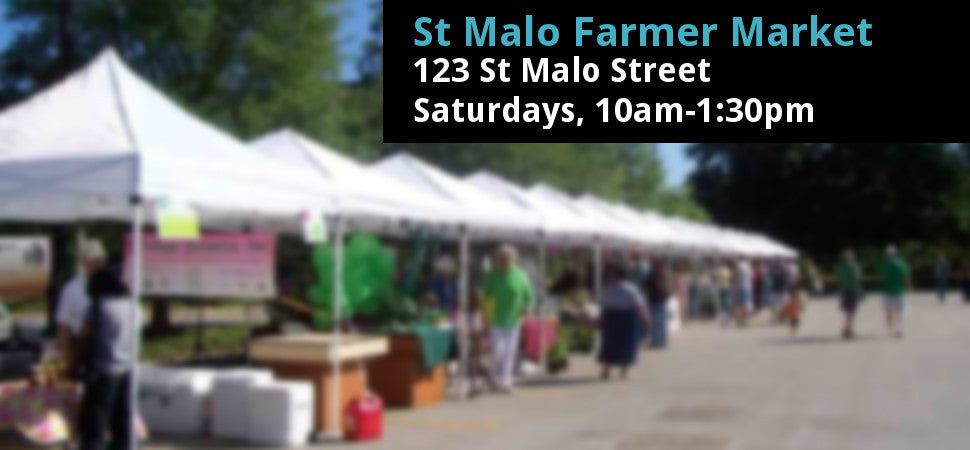 St. Malo Farmers Markets This Summer
