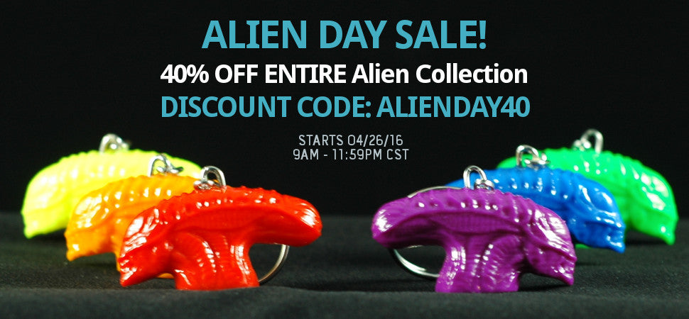 Alien Day Sale 2016