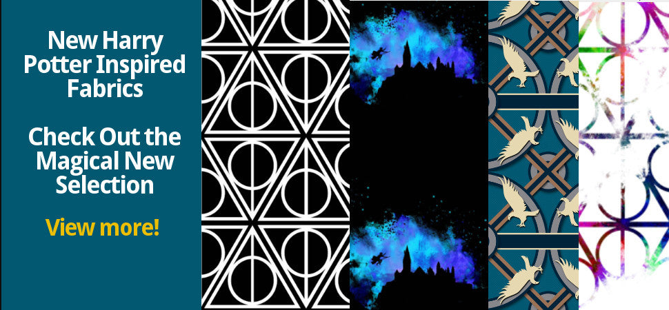 New Harry Potter Inspired Fabrics