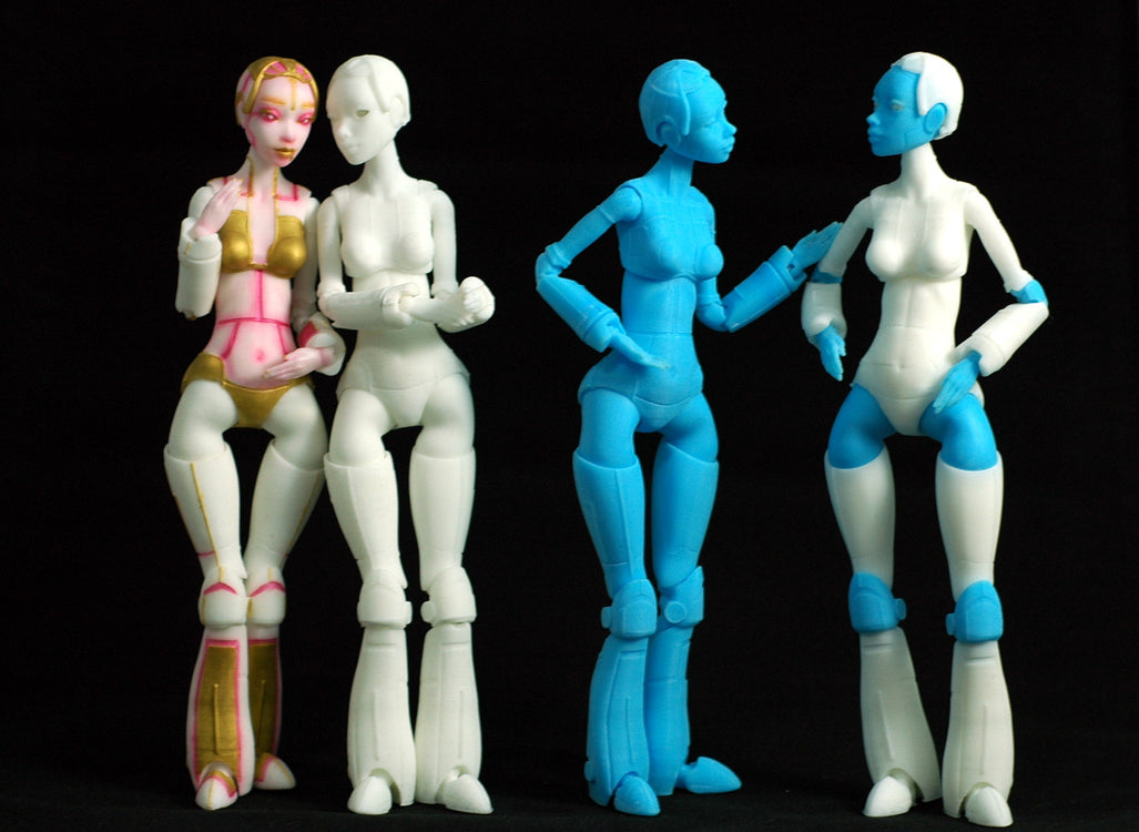 20cm Resin Robotica's now available!