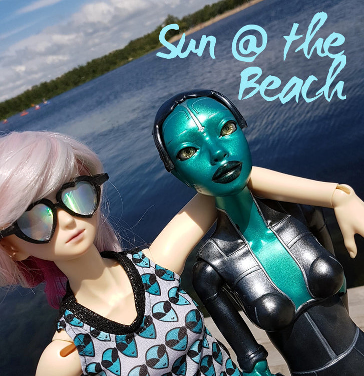 Dana and Robotica Story: Sun at the Beach