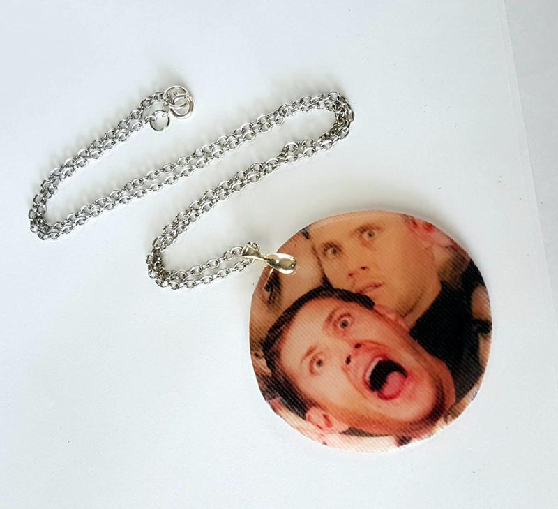 dean scream necklace for spn fans