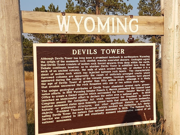 Devils Tower information