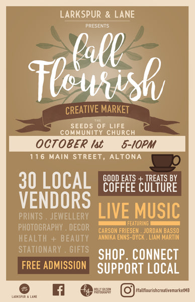 Fall Flourish Creative Market 2016