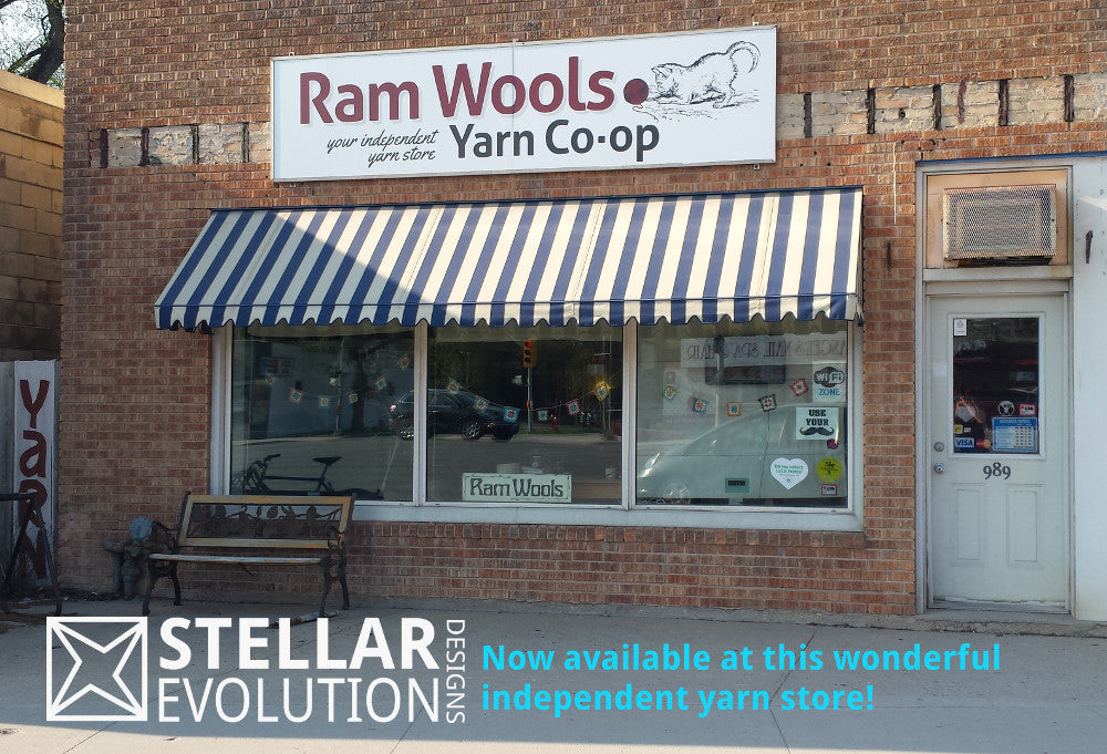 Stellar Evolution Designs geekery now at Ram Wools