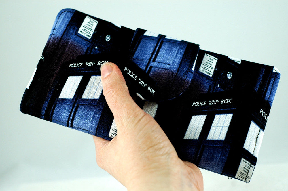 Police Box Wallet for Doctor Who Lovers