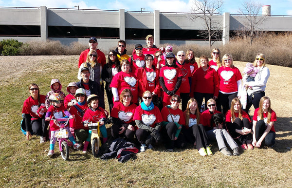 MS Walk-team scrambled legs-winnipeg-manitoba