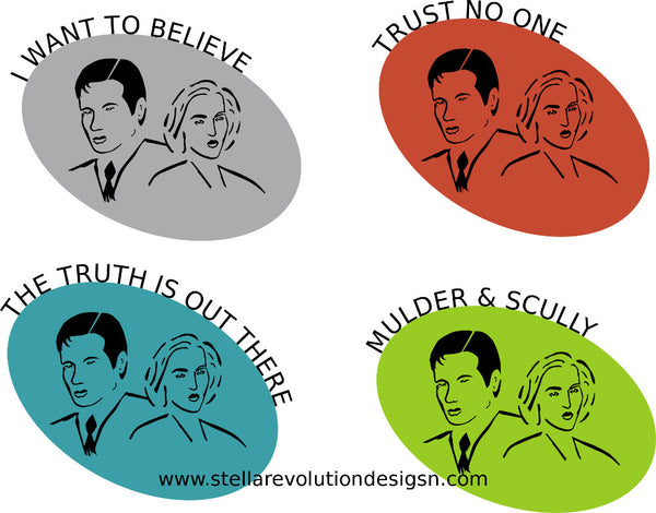 X-Files icons - Stellar Evolution Designs