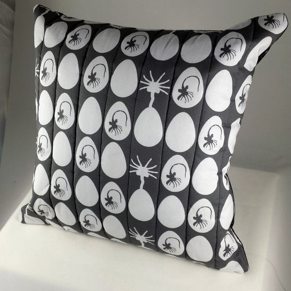 alien eggs and facehuggers pillows
