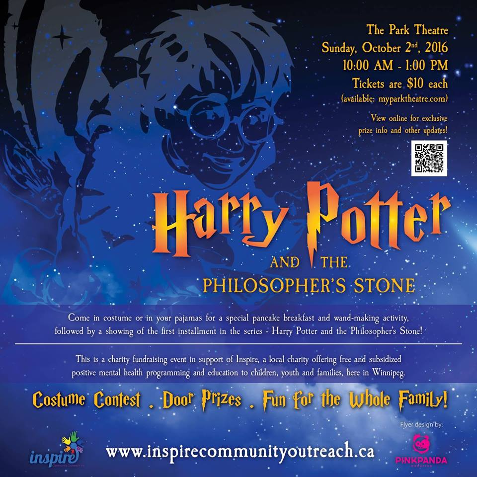 Harry Potter event poster