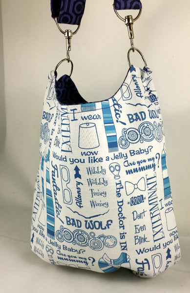 Custom Order Doctor Who Slouchy Bag