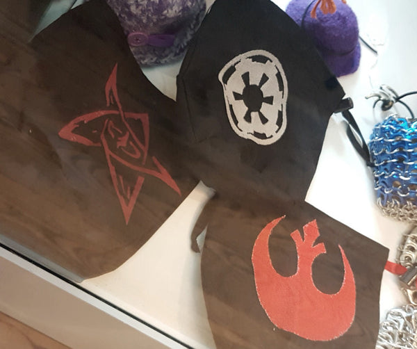 Dice bags by Centre of the Chaos Designs at A Muse N Games