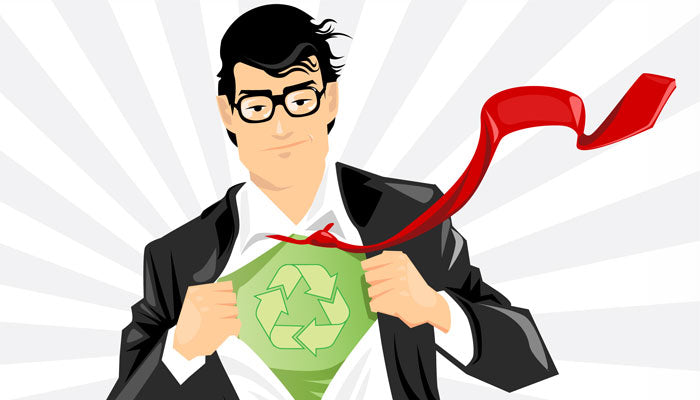 recycling superhero