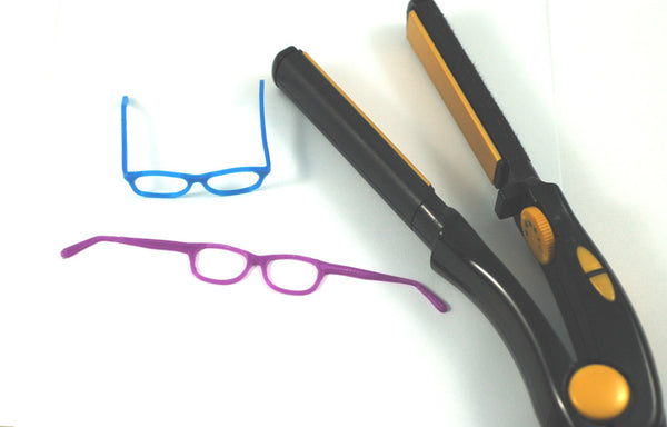 Tools you will need to shape 3d Printed BJD glasses from Stellar Evolution Designs