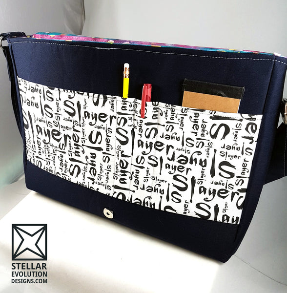 Laptop bag-custom order- full of fandom mashup-buffy the slayer-by stellar evolution designs
