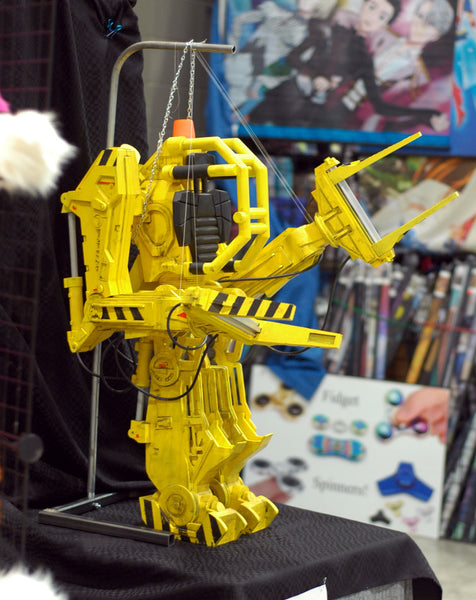 ripley's power loader 3d printed at 1-3 scale by stellar evolution designs