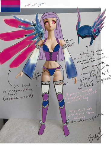 Custom armor dollfie dream canada