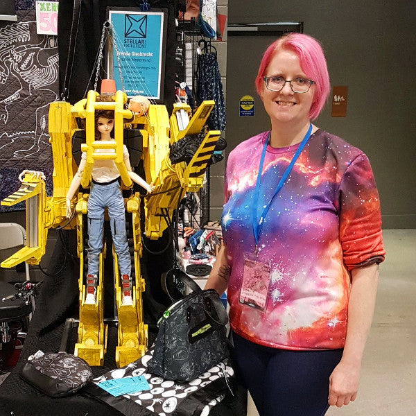 Me with my power loader for scale - stellar evolution designs