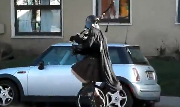 Vader on a unicycle