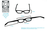 MSD glasses dimensions