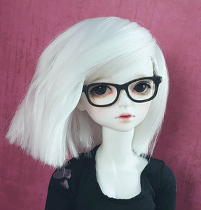 Black bjd nerd glasses for MSD Minifees