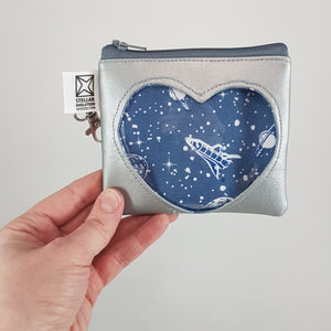 spaceship discovery coin purse