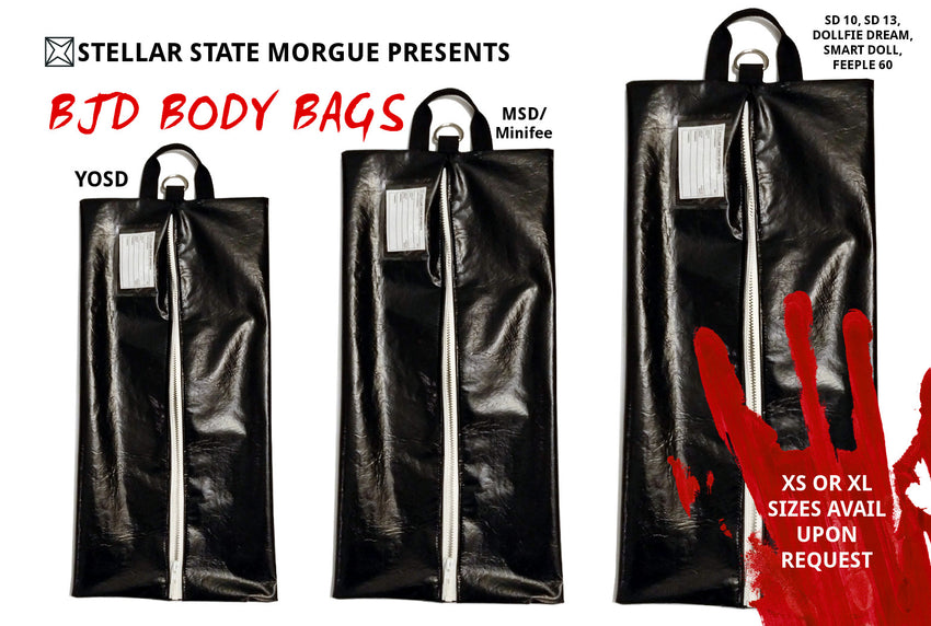 bjd doll body bags made in canada resin dolls