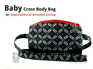 Baby Cross Body Bag - Supernatural Arsenal Lining