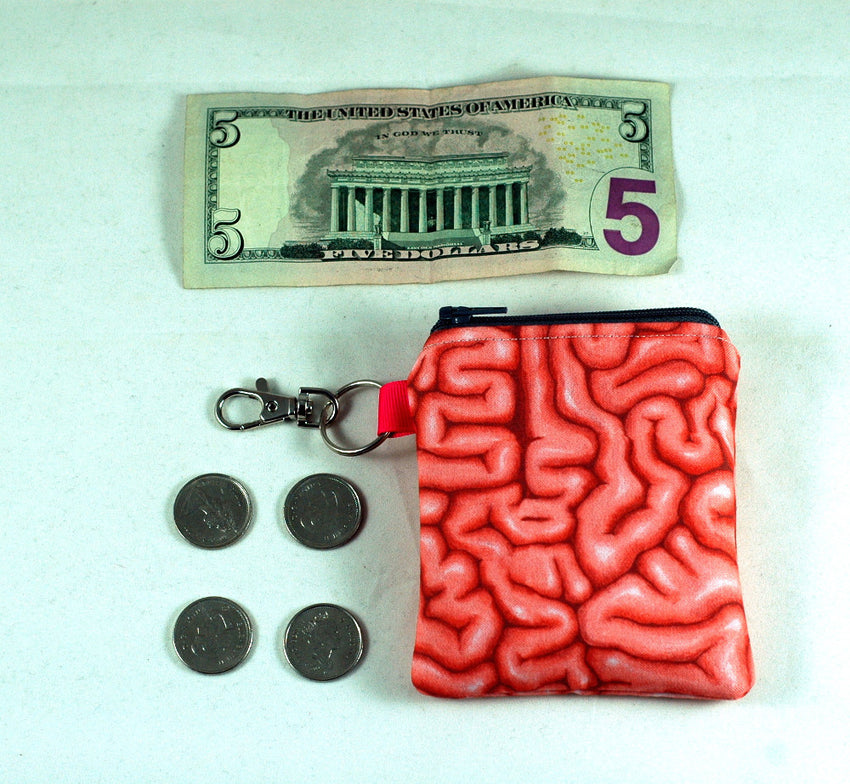 Coin Purse full of BRAINS!