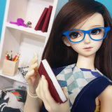BJD SD Geek Glasses - Blue