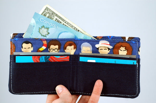 Doctor Who slim wallet