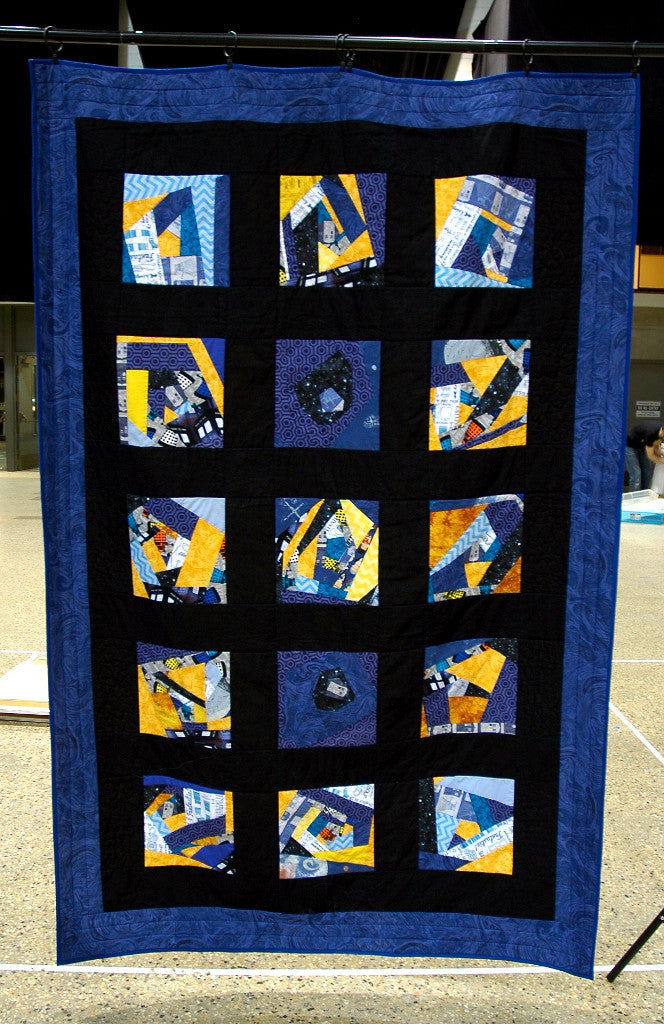 Doctor Who vs Daleks Quilt