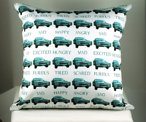 Impala 67-many emotions of Baby Pillow-Handmade geekery