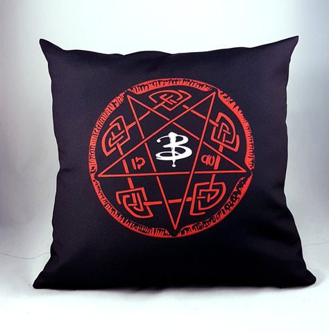 Buffy the vampire slayer hellmouth pillow