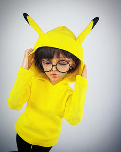 MSD or Minifee Hoodie - Cute Yellow and Black Ears