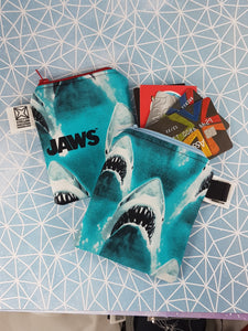 Coin Purse featuring Jaws of Sharks!