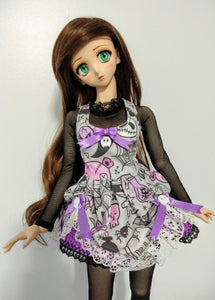 Lolita Dress & Body Suit set - for Curvy 1:3 SD Resin Vinyl BJD - Bootiful