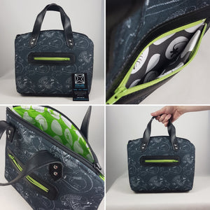 custom aliens lola bag from swoon patterns